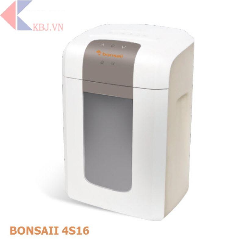 Máy hủy tài liệu Bonsaii 4S16