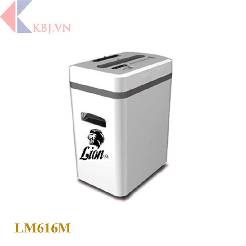 Máy hủy tài liệu Lion M: LM616M