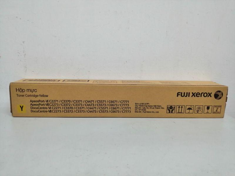 Mực màu vàng máy photo màu Fuji Xerox DC VI - VII C2270/ 3370/ 4470/ 4475/ 3375/ 3373 - CT202641